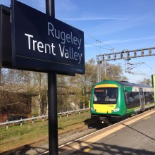 Upgrade means Tame Bridge Parkway to Rugeley Trent Valley line to close for three Sundays