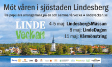 LindeVeckan 4-11 maj: Möt våren i sjöstaden Lindesberg
