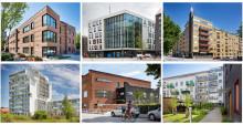 Här är årets finalister till Stadsbyggnadspriset och Gröna Lansen