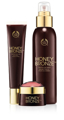 The Body Shop introducerar nyheter i kollektionen Honey Bronze™