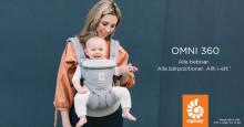 Ergobaby lanserar Omni 360, en ny allt-i-ett bärsele från nyfödd