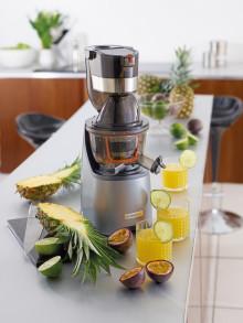 Kenwood lanserar PureJuice – kallpressad och nyttig juice hemma