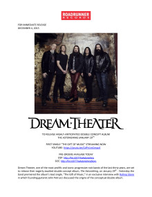 Dream Theater - The Astonishing Original PM