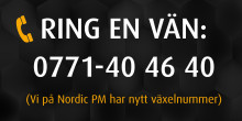 Nordic PM har nytt växelnummer