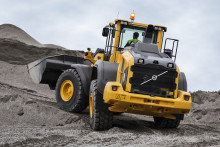 Volvos hjullastare i H-serien ger lägre utsläpp och förbrukning i 18-22 tonsklassen