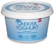 Larsa introducerar äkta Grekisk yoghurt med 0% fett, 10% protein