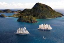 Kom helt ned i gear på et langt cruise med Star Clippers til Caribien eller Asien