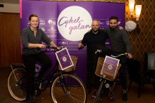 Årets Cykelvänligaste arbetsplats och Årets nytänk är utsedda