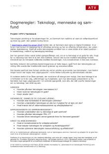 Dogmeregler for teknologi i Danmark_sådan tager teknologiledere beslutninger om ny tek