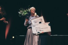 "En av Blooc grundare vinner hederspriset ""Årets Clarence Moberg 2018""."