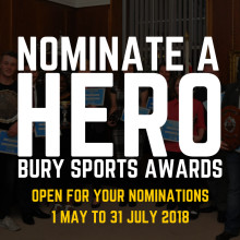 ​Nominate your favourite Bury sporting heroes