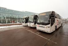 Trafikrapport från Swebus: Inga förseningar i lugn jultrafik
