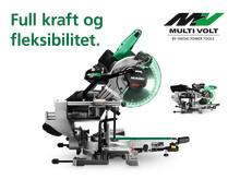 Nyhet! MULTI VOLT 36V Kapp og gjærsag C3610DRA gir maks ytelse og full frihet på arbeidsplassen.