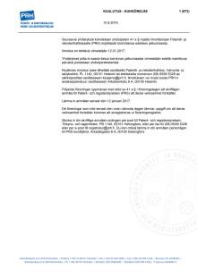 Virallinen lehti 10.8. – Poistomenettelyssä olevat yhdistykset