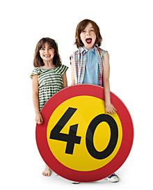 Nya hastighetsgränser i Huddinge