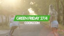 Green Friday - vårens största shoppingdag på CDON.COM