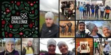 Sigma Christmas Challenge raises 34,000 SEK for Musikhjälpen