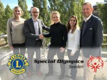 Special Olympics Sverige och Lions Sverige siktar mot framtiden tillsammans