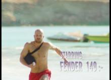 Baywatch-tema i nytt reklammanér från BAUHAUS