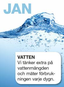 Att tänka på sin vattenförbrukning, kan vara roligare än det låter