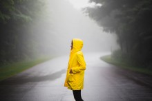 Regnet faller – elpriset faller
