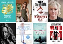 HarperCollins Nordicin kirjasyksy on täynnä jännityksen kuningattaria, true crimea sekä aineksia hyvinvoinnin vallankumoukseen