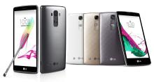 LG G4 STYLUS OCH LG G4C GÖR DEBUT PÅ DEN SVENSKA MARKNADEN