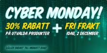 Cyber Monday – rekorddag för Fyndiq!