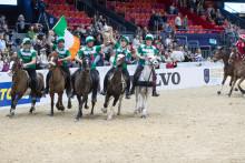 Mounted Games och en jublande publik