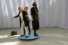 Balansakt i fokus på utställning på Chalmers Arkitektur