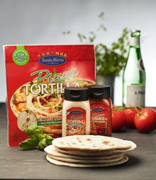 Santa Maria lanserar nytt pizzakoncept. Gör din egen Tex Mex-pizza på tortilla.