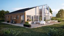 Energieffektiva solenergihus från Solvikshus AB får smarta hem från Somfy Sweden AB