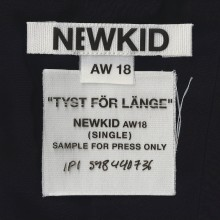 """Newkid släpper singeln """"Tyst för länge"""" och releasedatum för kommande EP """"AW18""""!"""