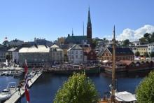 Diskuterer bærekraftige investeringer på Arendalsuka