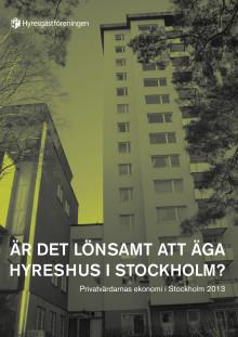 Är det lönsamt att äga hyreshus i Stockholm?