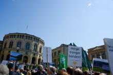 Opptog for norsk landbruk