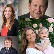 Prinsessan Madeleine, Inge Thulin, Anna Ryott och Geoff Gage är nya ledamöter i styrelsen för World Childhood Foundation.