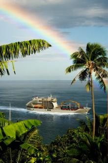 Polynesias svar på Hurtigruten