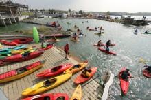 Ab 1. Mai 2019 wird es wieder wild: Saisonstart und XXL-Paddelfestival im Kanupark Markkleeberg