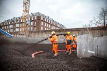 Leca® letfyld i Nordhavnstunnelen gør byggeriet let