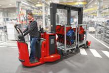 Trolley Supply Truck – ett nytt koncept för effektiv produktionsförsörjning
