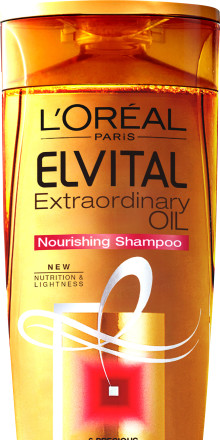 L'Oréal Paris Elvital Extraordinary Oil -sampoo ja hoitoaine