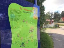 Nu invigs Vallentunas Hälsans stig  – för spontan rörelse för alla