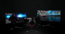 LG:s nya 2020-bildskärmar - det perfekta valet för både gamers och professionella användare