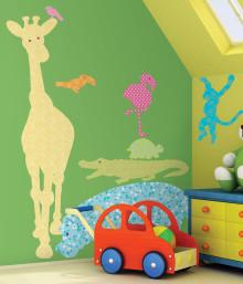 Massor med färger och mönster i höstens barnrum