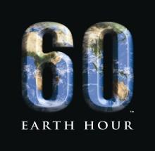 Earth hour – en timme mörker för ett ljusare klimat