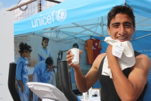 SWEAT MACHINE HELPED UNICEF REACH A RECORD-BREAKING AUDIENCE