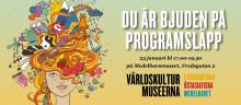 Programsläpp på Världskulturmuseerna i Stockholm