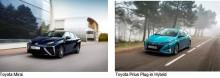 Toyota under Almedalsveckan 2017: Demonstrerar snabbtankad elbil samt laddhybrid som bara drar 0,1 liter/mil