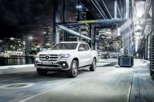 Premiere på Mercedes X-Klasse – den første pickup i premiumsegmentet